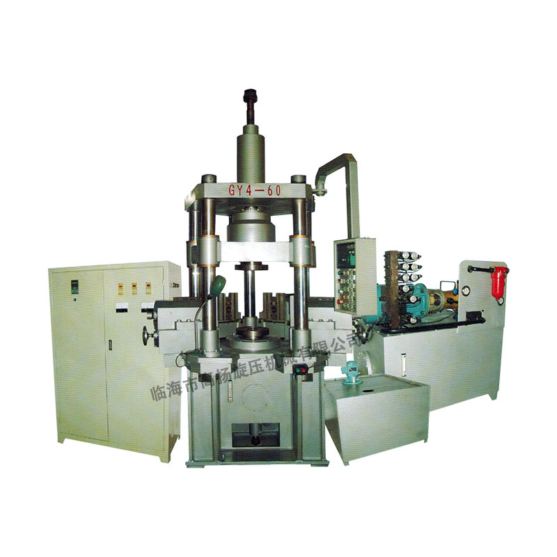 GY4-60立式五柱四工位旋压机床